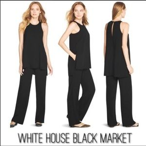 White House Black Market One Piece Tunic Jumpsuit